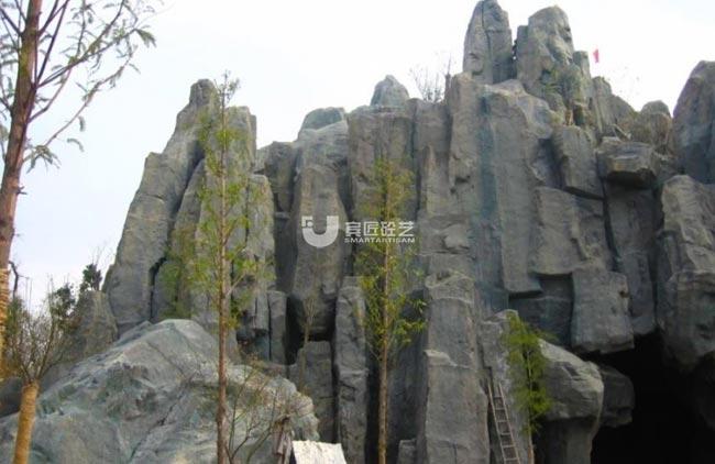 宁波瑾州公园GRC假山