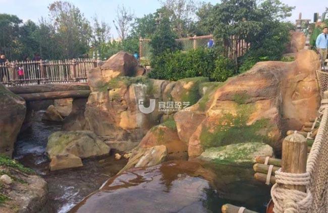 上海迪士尼景观塑石