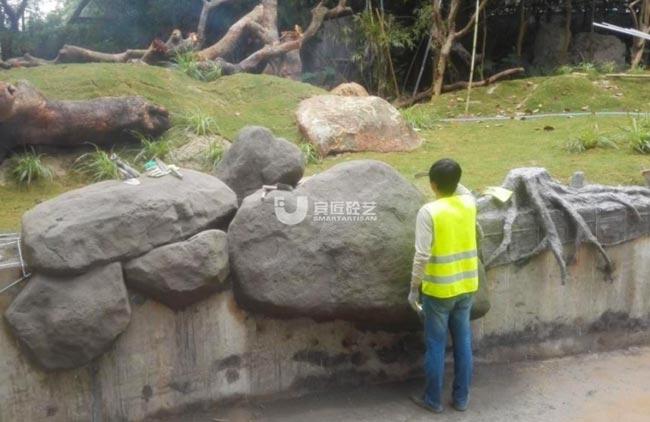 广州长隆景观塑石