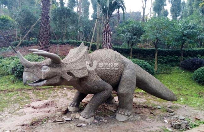 璧山秀湖公园恐龙景观雕塑