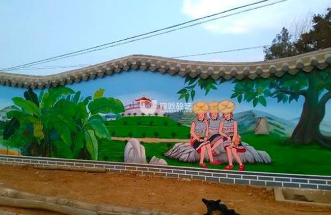 云南壁画彩绘
